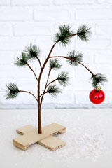 urban outfitters charlie brown tree