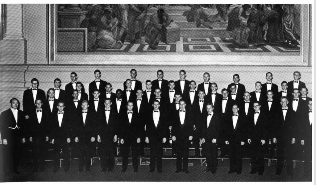 1961-62 Glee Club in the 1962 Corks and Curls, page 159