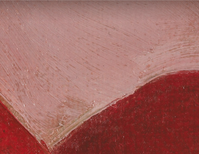 Detail of Red Cannas by Georgia O'Keefe