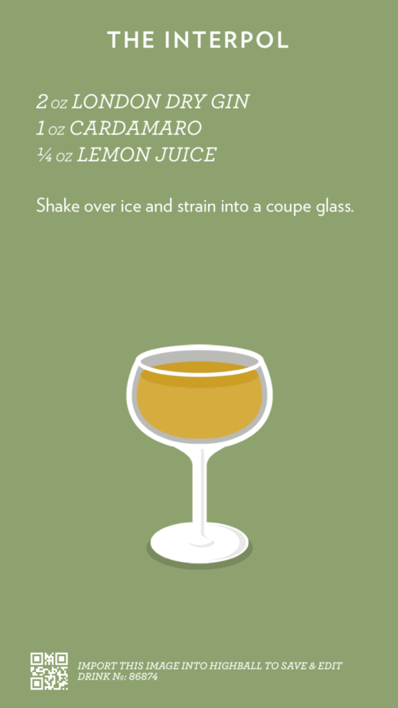 The Interpol, created with Highball.